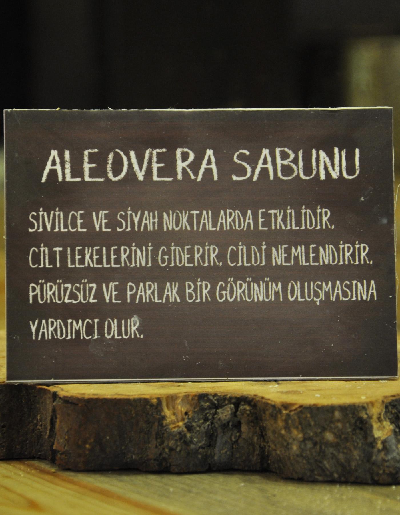 El Yapımı Doğal Aleovera Sabunu 110 Gr.