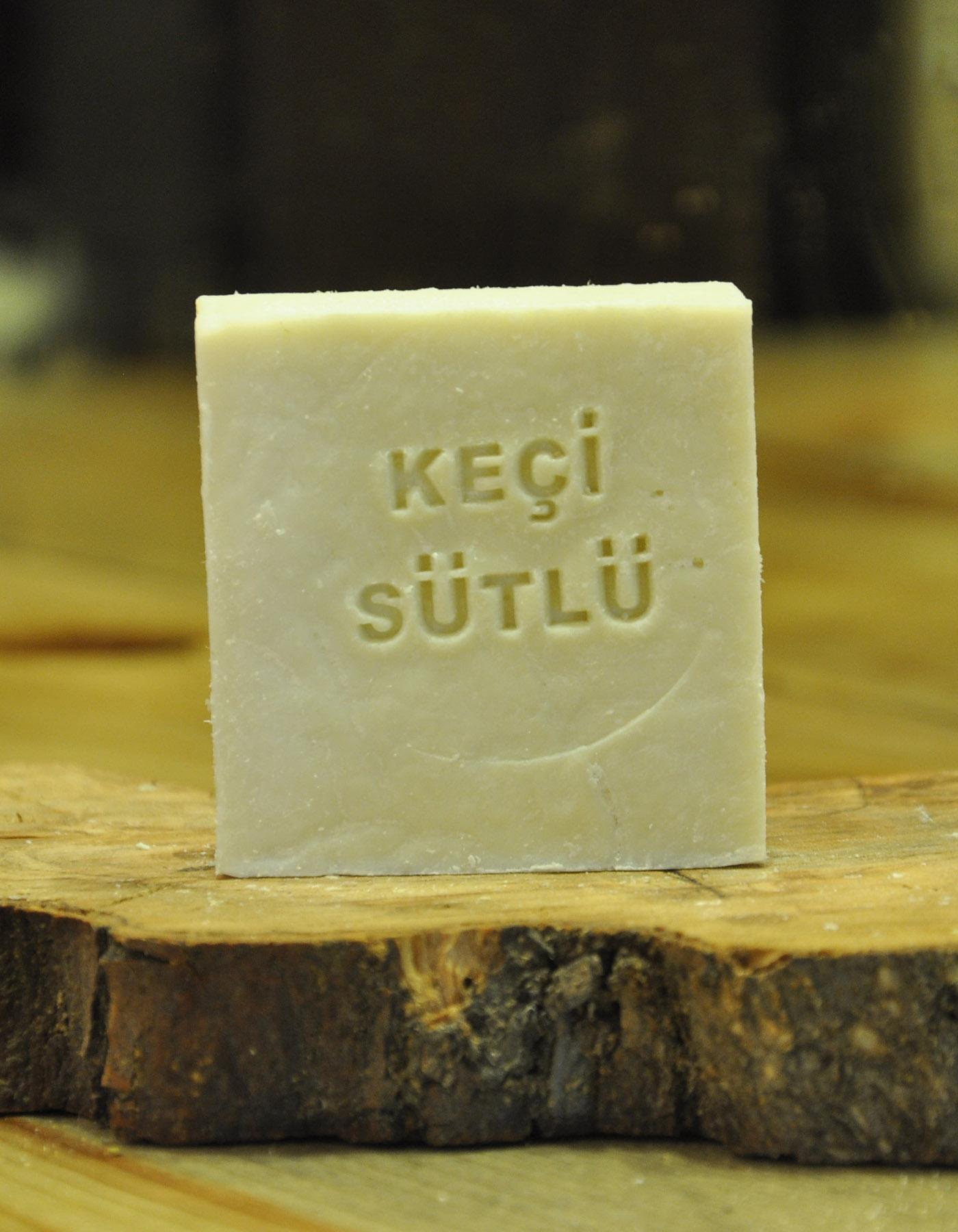 El Yapımı Doğal Keçi Sütü Sabunu 110 Gr. - Thumbnail