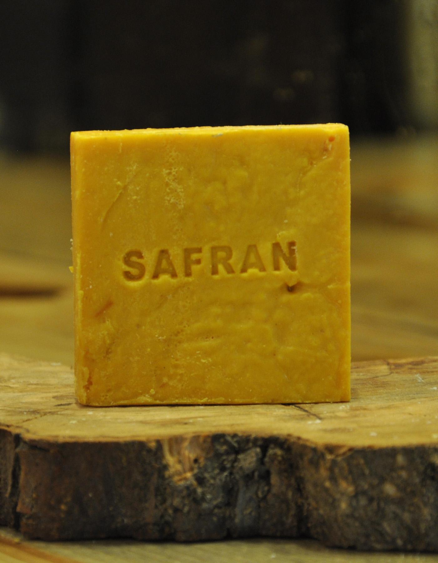 El Yapımı Doğal Safran Sabunu 110 Gr. - Thumbnail