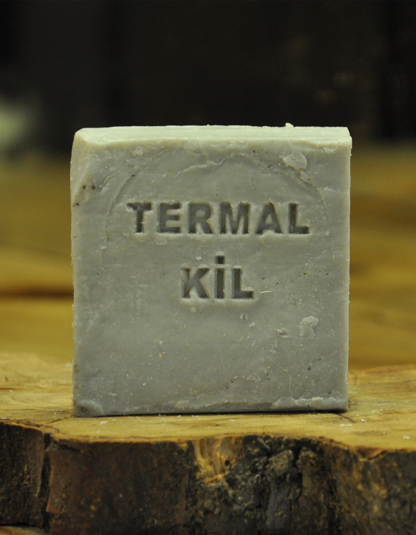 El Yapımı Doğal Termal Kil Sabunu 110 Gr.