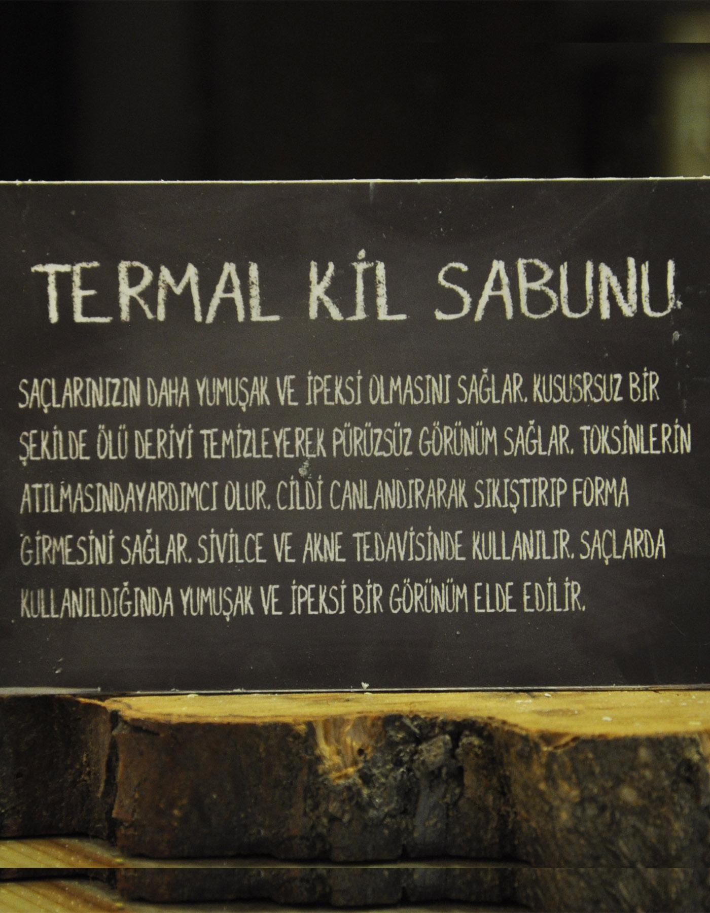 El Yapımı Doğal Termal Kil Sabunu 110 Gr. - Thumbnail