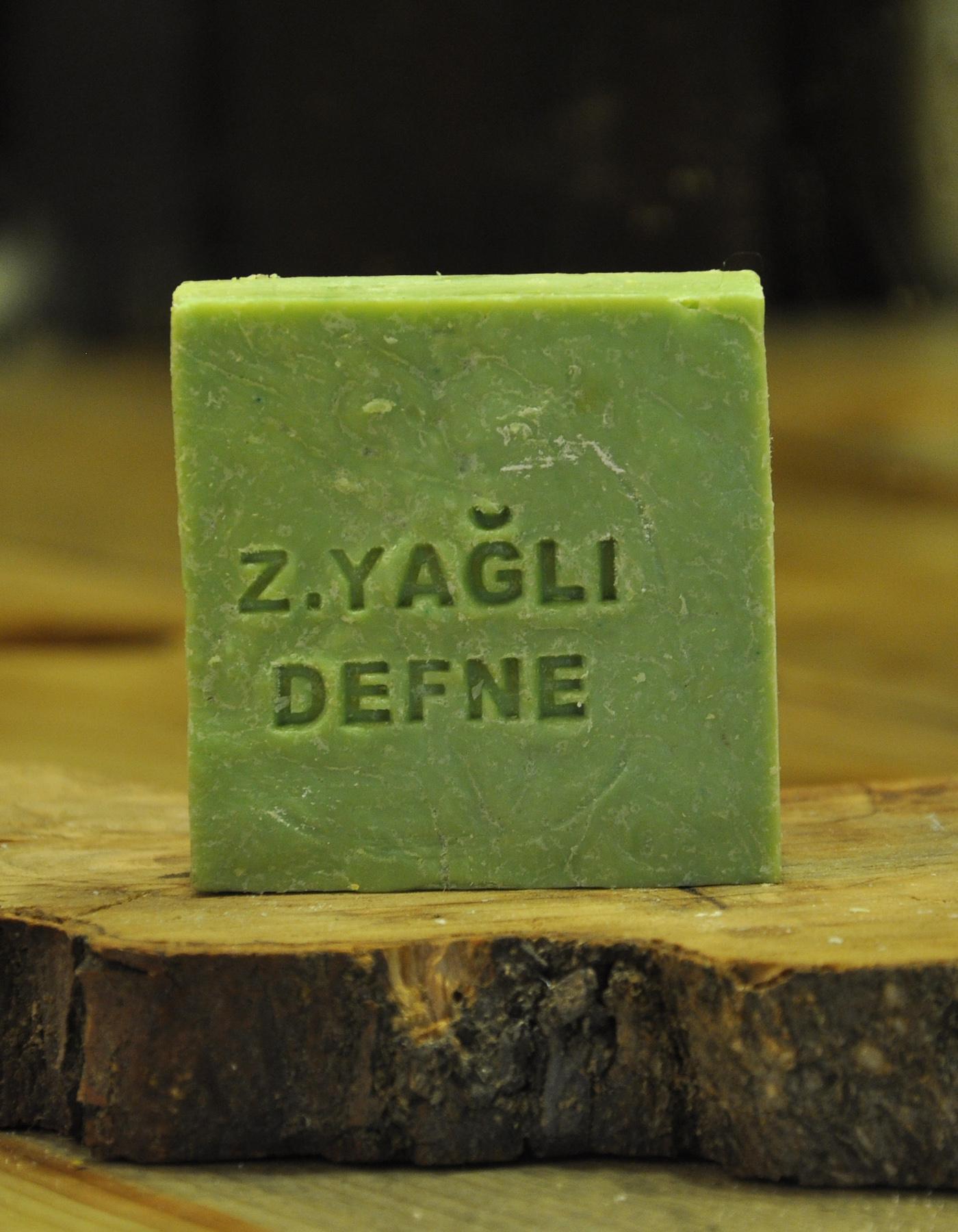 El Yapımı Doğal Zeytinyağlı Defne Sabunu 110 Gr.